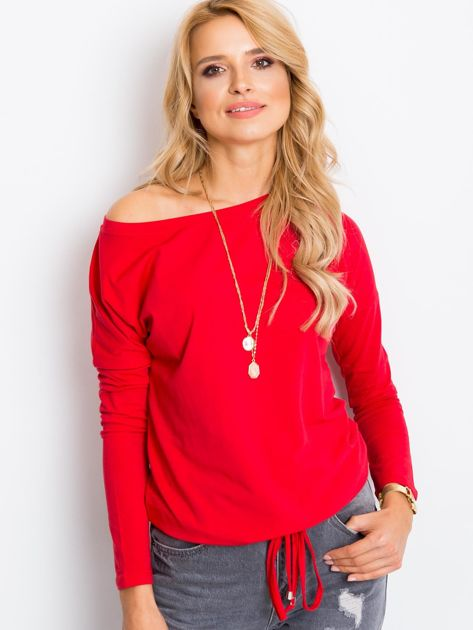 Czerwona bluzka Carla                              zdj.                              5