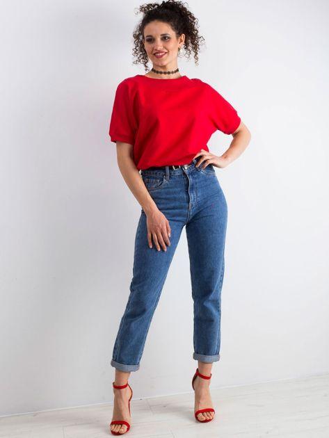 Czerwona bluzka Lemontree                              zdj.                              6