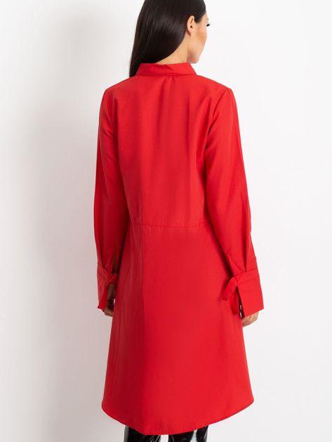 Czerwona koszula Sydney                              zdj.                              2