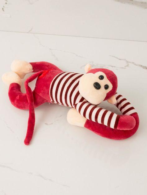 Czerwona maskotka Małpka                              zdj.                              2