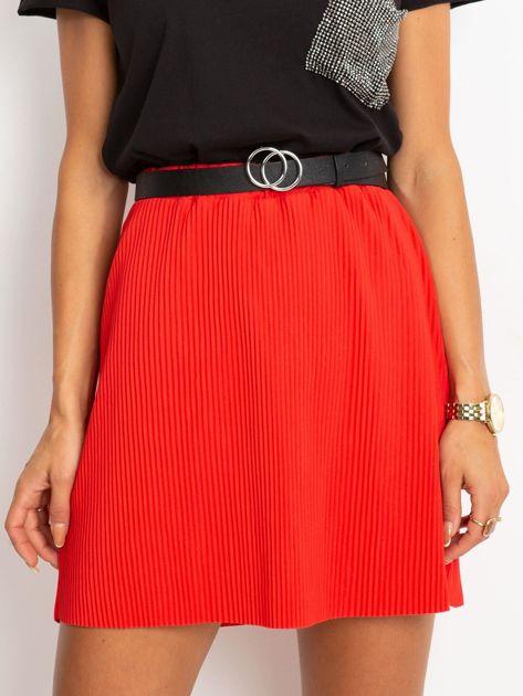 Czerwona spódnica Delta                              zdj.                              1