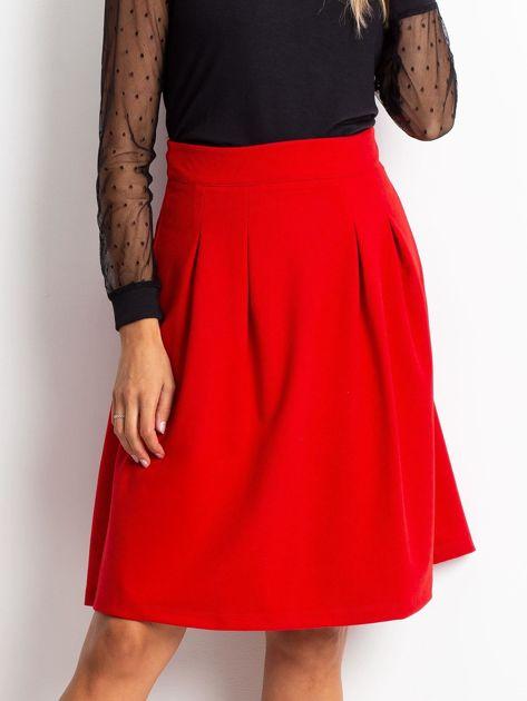 Czerwona spódnica Gemini                              zdj.                              1