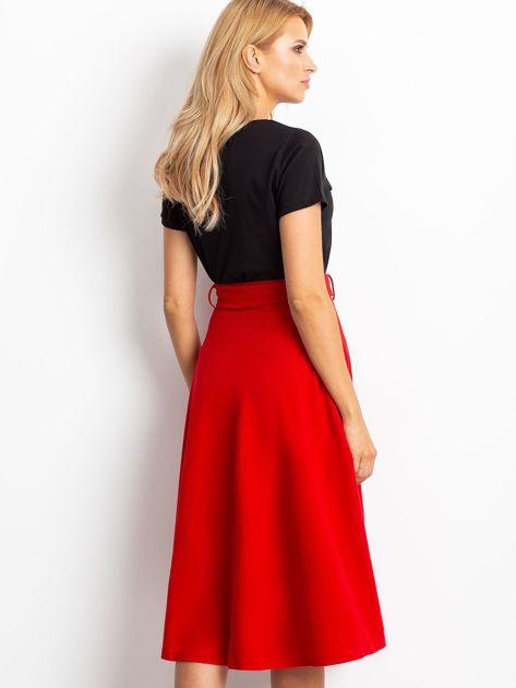 Czerwona spódnica Trust                              zdj.                              2