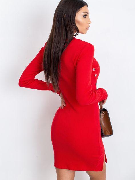 Czerwona sukienka Fabulous                              zdj.                              2