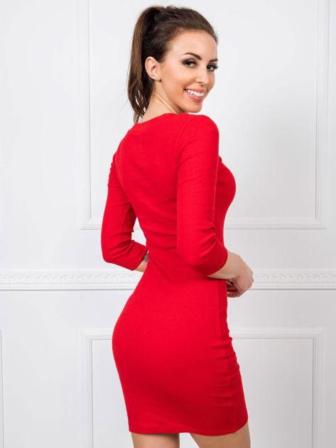 Czerwona sukienka Kim RUE PARIS
