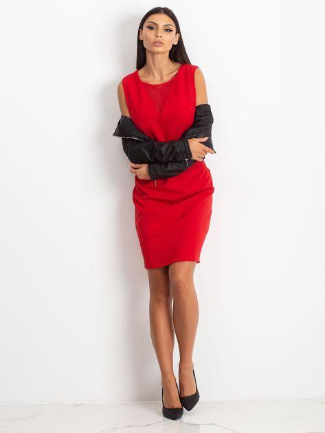 Czerwona sukienka Theme                              zdj.                              5