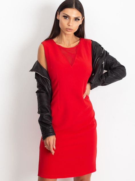 Czerwona sukienka Theme                              zdj.                              7