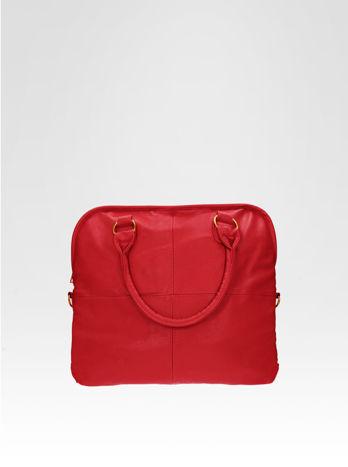 Czerwona torba miejska na ramię                                  zdj.                                  1