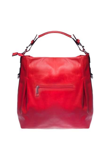 Czerwona torebka hobo na ramię                                  zdj.                                  2