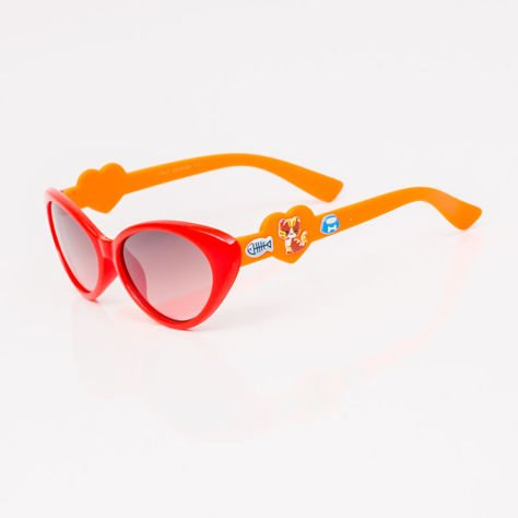 Czerwone Dziecięce Okulary przeciwsłoneczne                              zdj.                              2