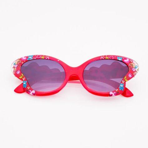 Czerwone Dziecięce Okulary przeciwsłoneczne MOTYL                              zdj.                              1