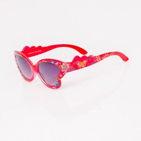 Czerwone Dziecięce Okulary przeciwsłoneczne MOTYL                              zdj.                              2