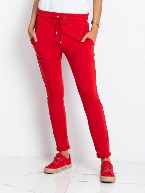 Czerwone spodnie Cadence                              zdj.                              1