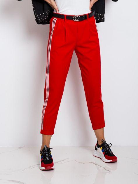 Czerwone spodnie Orinoco                              zdj.                              5