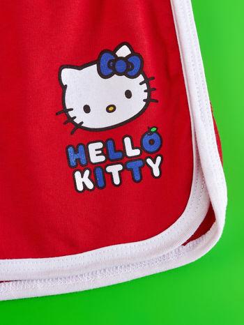 Czerwone szorty dla dziewczynki HELLO KITTY                                  zdj.                                  3