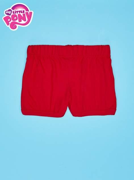 Czerwone szorty dla dziewczynki MY LITTLE PONY                                  zdj.                                  2