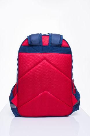 Czerwony plecak szkolny DISNEY z motywem żeglarskim                                  zdj.                                  4