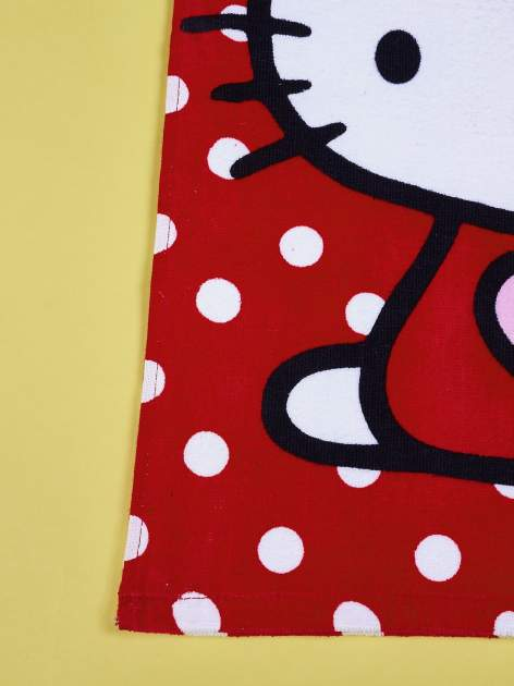 Czerwony szlafrok dla dziewczynki HELLO KITTY                                  zdj.                                  5