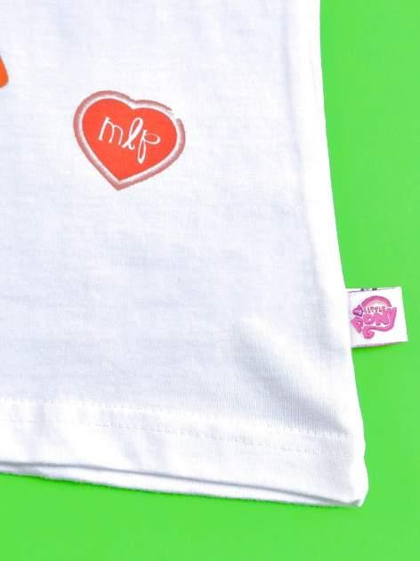 Czerwony t-shirt dla dziewczynki MY LITTLE PONY                                  zdj.                                  5