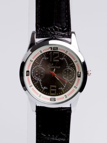 DLA NIEGO... Czarno-biały gustowny zegarek męski                                   zdj.                                  3