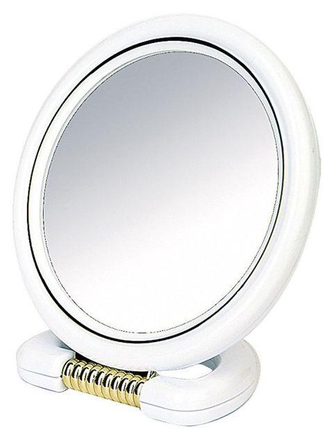 DONEGAL Dwustronne lusterko kosmetyczne okrągłe 18,5cm (9509)