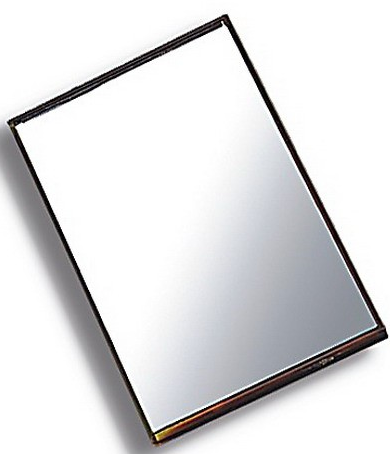DONEGAL Jednostronne lusterko kieszonkowe prostokątne 9x5,2cm (9595)