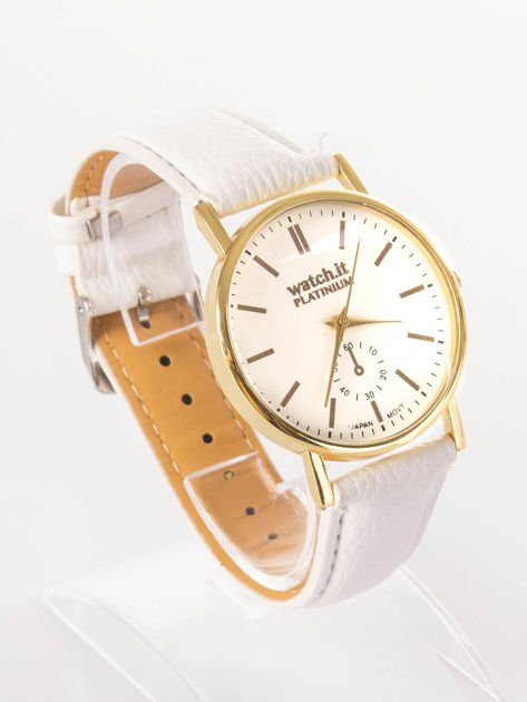Damski zegarek biały                              zdj.                              2