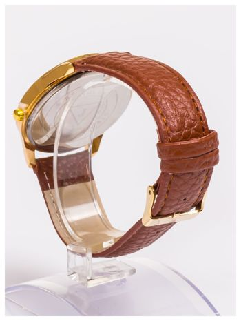 Damski zegarek z cyrkoniami z dużą wyraźną tarczą                                  zdj.                                  4