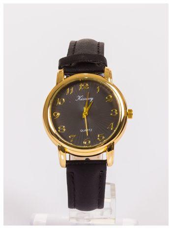 Damski zegarek z delikatnym wzorem na tarczy                                  zdj.                                  1