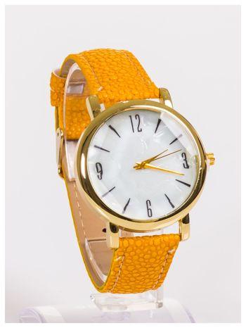 Damski zegarek z dużą i wyraźną perłową tarczą CAMEL                                   zdj.                                  3