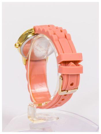Damski zegarek z małą tarczą na silikonowym wygodnym pasku                                   zdj.                                  4