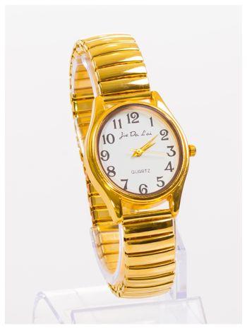 Damski zegarek z owalną tarczą na elastycznej bransolecie                                   zdj.                                  3