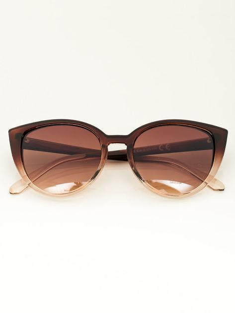 Damskie okulary przeciwsłoneczne typu CAT EYE                              zdj.                              2
