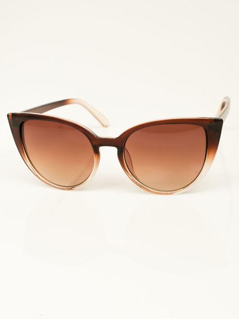 Damskie okulary przeciwsłoneczne typu CAT EYE                              zdj.                              1