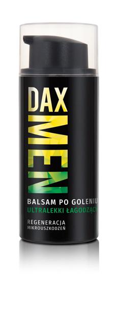 "Dax Cosmetics Men Balsam po goleniu ultralekki łagodzący  100ml"""