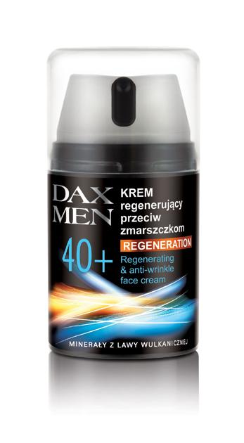 "Dax Cosmetics Perfecta Men Krem regenerujący 40+"""