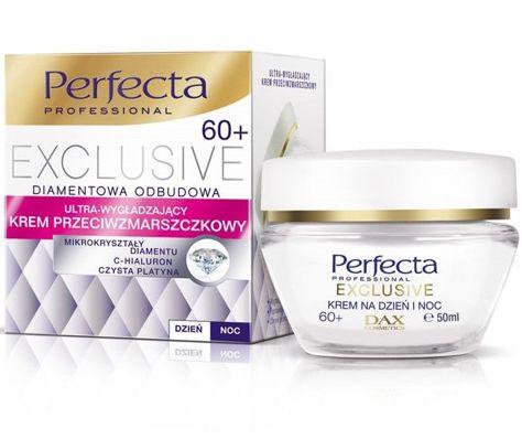Dax Perfecta Exclusive 60+ Krem przeciwzmarszczkowy ultra-wygładzający na dzień i noc 50 ml