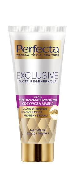 """Dax Perfecta Exclusive Silnie Przeciwzmarszczkowa Odżywcza Maska  60ml"""""""
