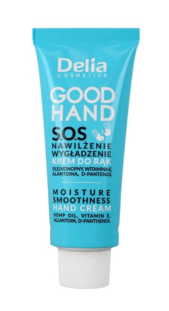 """Delia Cosmetics Good Hand S.O.S Krem do rąk Nawilżenie i Wygładzenie  75ml"""""""