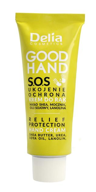 "Delia Cosmetics Good Hand S.O.S Krem do rąk Ukojenie i Ochrona  75ml"""