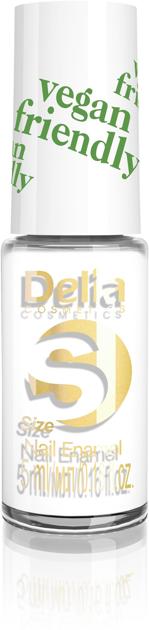 "Delia Cosmetics Vegan Friendly Emalia do paznokci Size S nr 201 Plan B 5ml"""