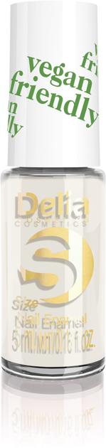 "Delia Cosmetics Vegan Friendly Emalia do paznokci Size S nr 205 Beige Babe  5ml"""