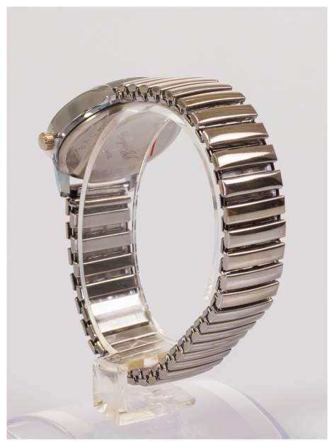 Delikatny damski zegarek na elastycznej bransolecie                                  zdj.                                  4