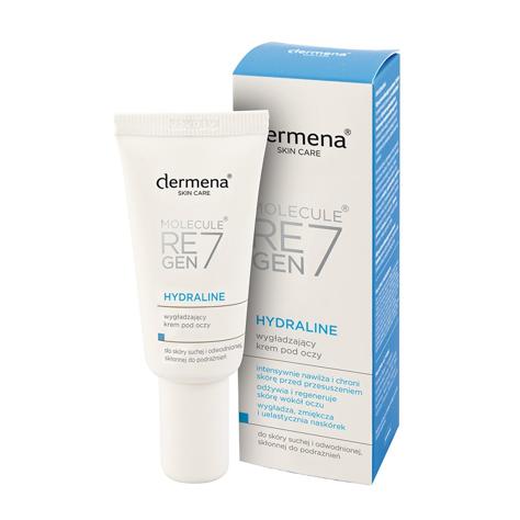 """Dermena Skin Care Hydraline Wygładzający Krem pod oczy 15ml"""""""