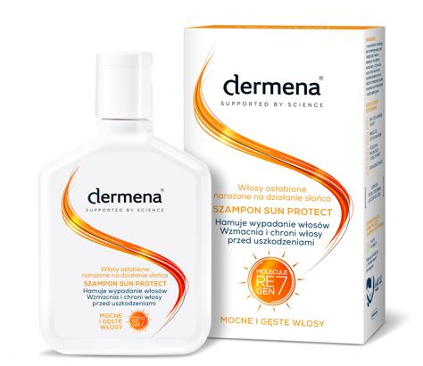 """Dermena Sun Protect Szampon do włosów osłabionych narażonych na działanie słońca 200ml"""""""