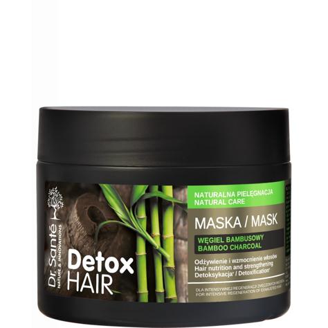 """Dr.Sante Detox Hair Maska regenerująca do włosów z węglem bambusowym 300ml"""""""