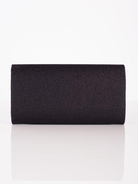 Duża brokatowa kopertówka czarna                              zdj.                              3