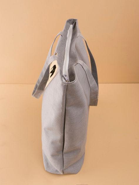 Duża szara uniwersalna torba                              zdj.                              3