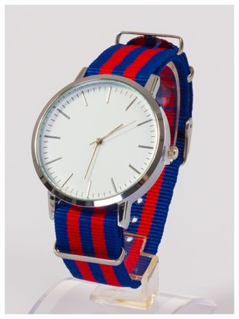 Duża tarcza  Nowoczesny i elegancki zegarek unisex. Doskonały na każdą okazję.                                  zdj.                                  2