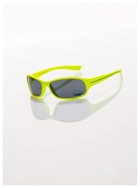 Dziecięce żółte okulary przeciwsłoneczne z filtrami